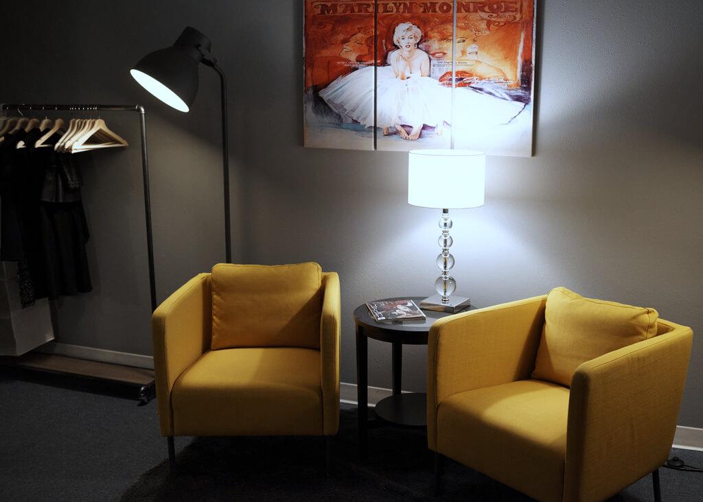 Cobalt Studios Portland Studio Dressing Room